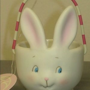 Dept 56 bunny mini votive candle holder, Dottie